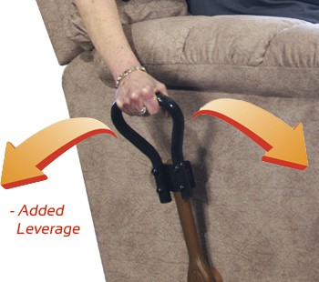 Recliner Lever Extension by Stander makes it easier to reach and pull the recliner lever. & Recliner Lever Extension by Stander places handle within easy reach islam-shia.org