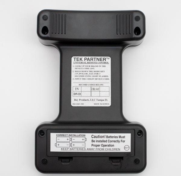 Tek Partner Large Button Universal Remote