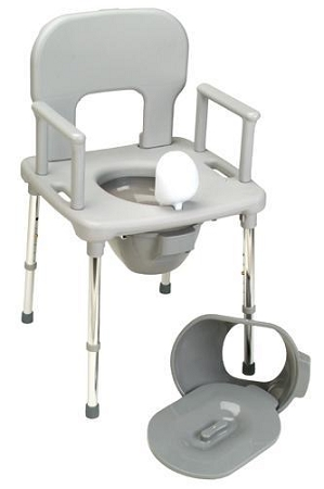 Bath One Shower Commode Chair Folding Travel Bath Chair