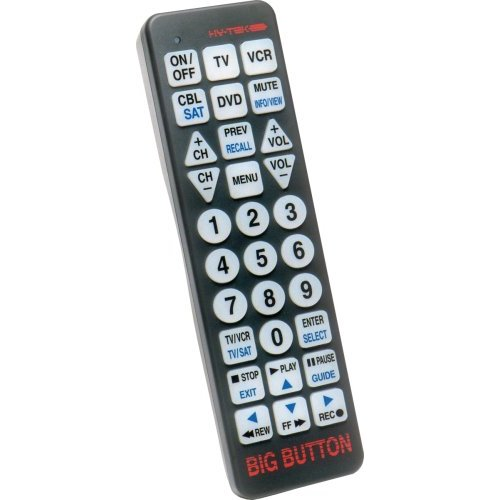 Big Button TV Remotes