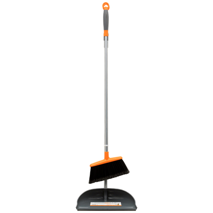 Ergo Long Handled Dust Pan & Broom - Discontinued