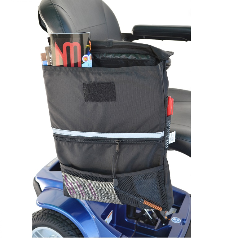 Scooter Saddle Bag Extra Large Keeps Personal Items Safe