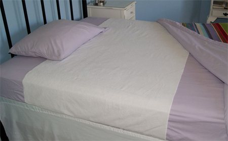 Sheet Shield Bed Pad waterproof sheet protector for full queen bed