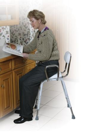 All Purpose High Chair With Padded Seat And Back Hip Chair