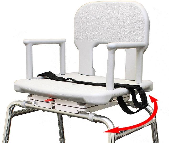 Heavy Duty Swivel Shower Chair