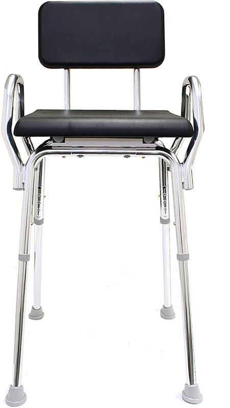 Snap N Save Padded Hip Chair Arthritis Shower Seat Hip