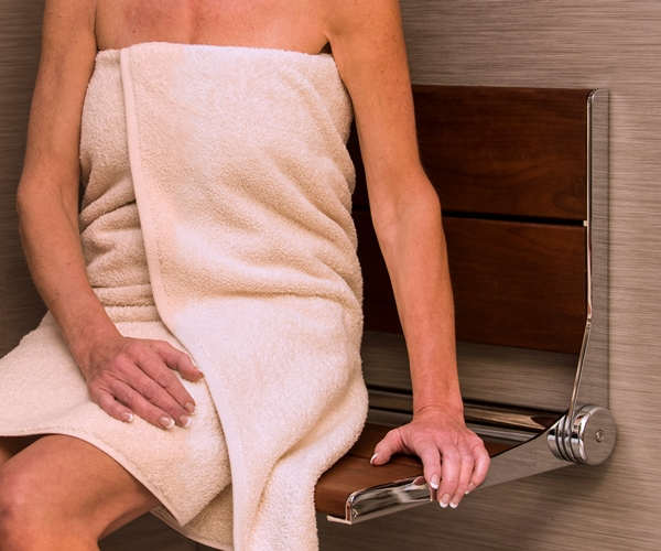 18 inch Serena Seat Foldable Shower Seat