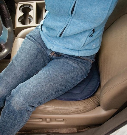 Car Swivel Seat Cushion By Stander Reduces Hip Back