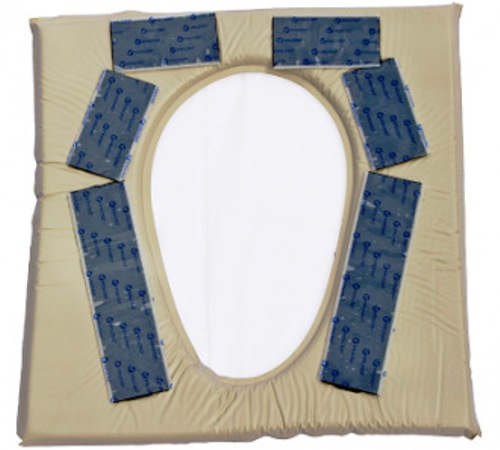 Akton Polymer Commode Pads Oval Opening Or Large Size