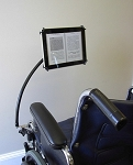 Tab Grabber eReader Holder for Wheelchairs