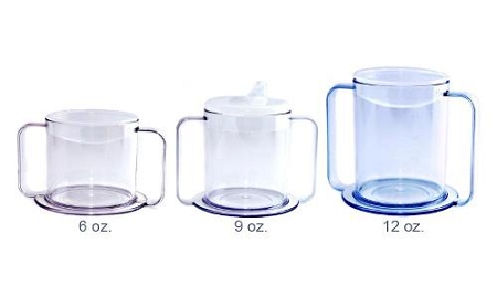 Independence Clear Mug With Two Handles Dual Handles