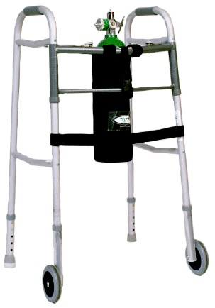 TO2TE D Size Oxygen Holder for Walkers
