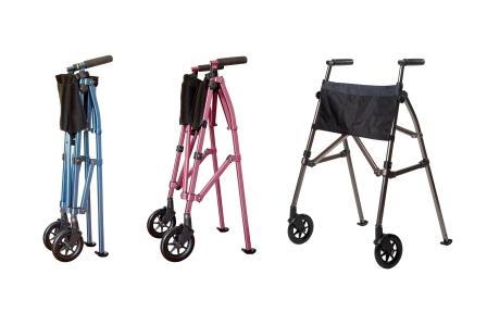 Ez Fold N Go Walker By Stander Mobility Walker For Users