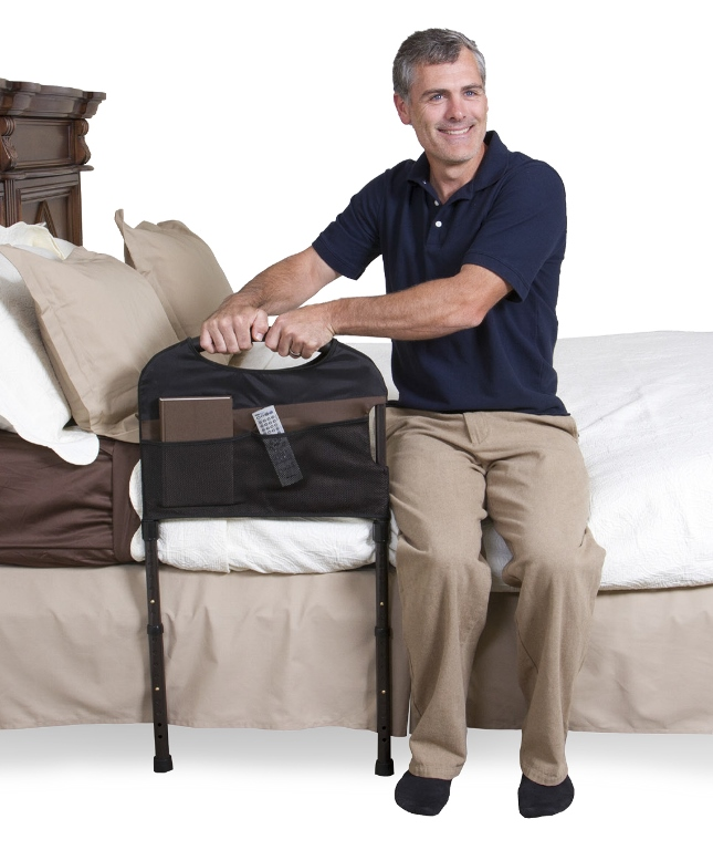 Mobility Bed Rail By Stander Transfer Handle For Help