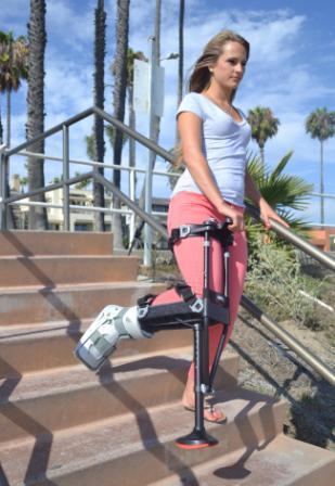 Iwalk 2 0 Hands Free Crutch Revolutionary Crutch