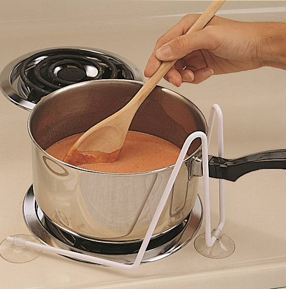 Stove Top Pot Holder :: pot stabilizer for arthritis cooking