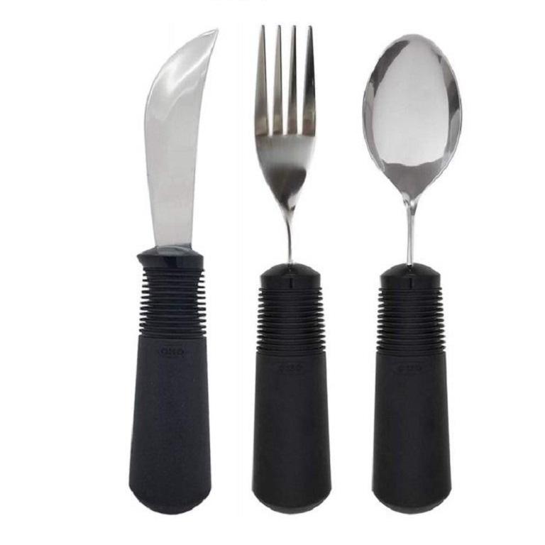 Set Of 3 Good Grips Utensils Bendable Eating Utensils For