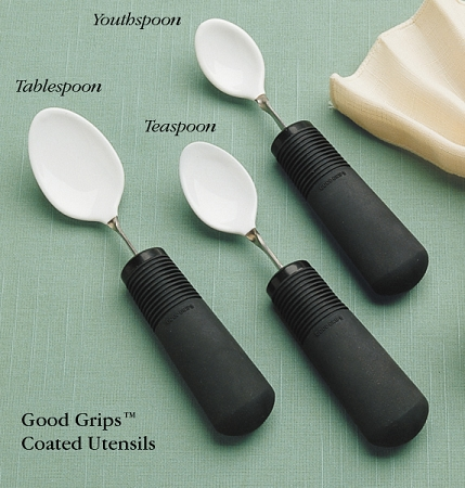 Good Grips Coated Spoons Bendable Large Grip Handles