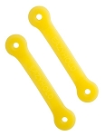 Eazyhold Yellow Grip Straps 2-Pack