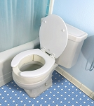 Essential Hinged Toilet Seat Riser