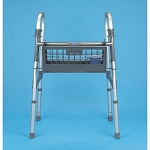 No Wire Folding Walker Basket