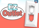 EZ Outlet Extra Large Plate Cover