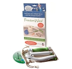 Freedom Wand - multipurpose, portable, personal hygiene aid.