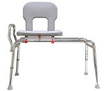 Heavy-Duty Swivel Sliding Bath Transfer Bench