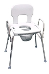 Eagle Health Bariatric Commode Shower Chair - Discontinued