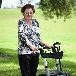 ErgoActive Roller-Go Rollator Walker with Forearm Supports