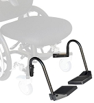 Revo 360 Slim Line Wheelchair Foot Plates