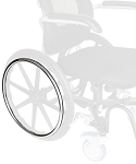 Revo 360 Slim Line Wheelchair Hand Rings