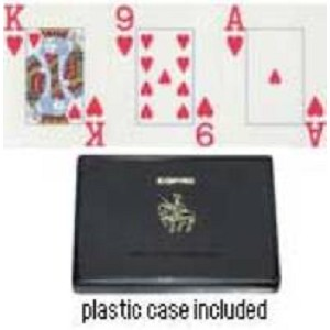 Jumbo Index Plastic Poker Playing Cards Discontinued
