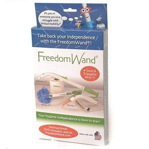 Freedom Wand Master Kit : multipurpose, portable, personal hygiene aid