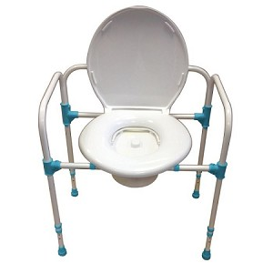 Big John Heavy Duty Commode Chair