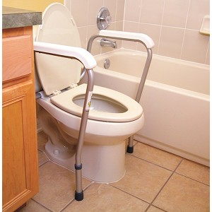 Essential Bath Safety Toilet Frame