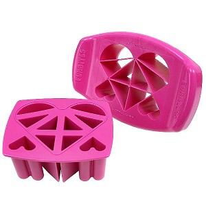 FunBites Hearts Food Chopper Pink