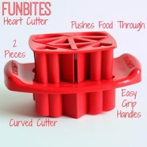 FunBites Hearts Food Chopper