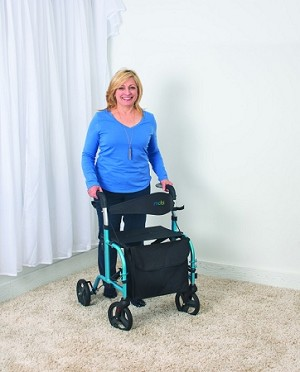 Juvo Mobi Rollator Walking Aid and Transport Chair - Discontinued