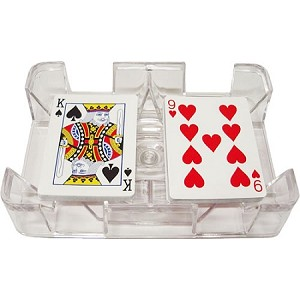 Clear Playing Card Tray - Discontinued