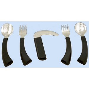 Amefa Curved Built Up Handle Utensils - Discontinued