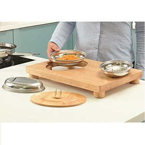 Multi-Purpose Food Preparation Board