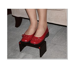 Back Relax Folding Footrest