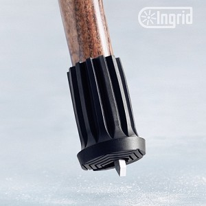 INGRID Retractable Ice Spike Tip for Canes or Crutches - Large