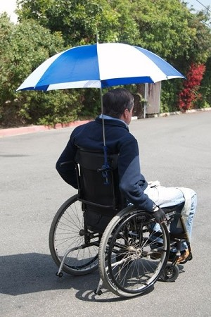 Wheelchair Umbrella - Discontinued