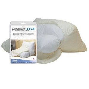 Contour Wedge Flip Pillow Cover - Discontinued