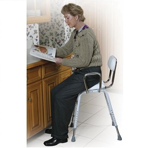 Padded Seat and Back Adult High Chair