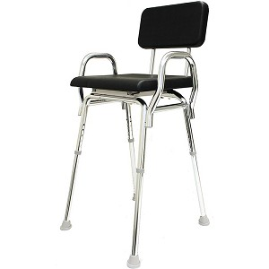 Snap-N-Save Padded Hip Chair with Armrests