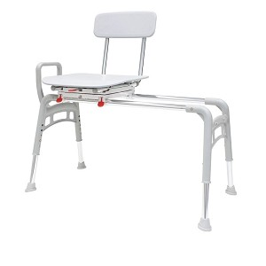 Ergo Sliding Transfer Bench with Swivel Seat