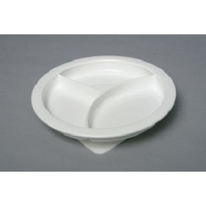 Freedom Dinnerware Divided Plate with Base